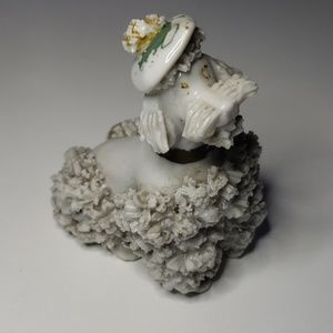 Other - Vintage Poodle Ceramic Figure